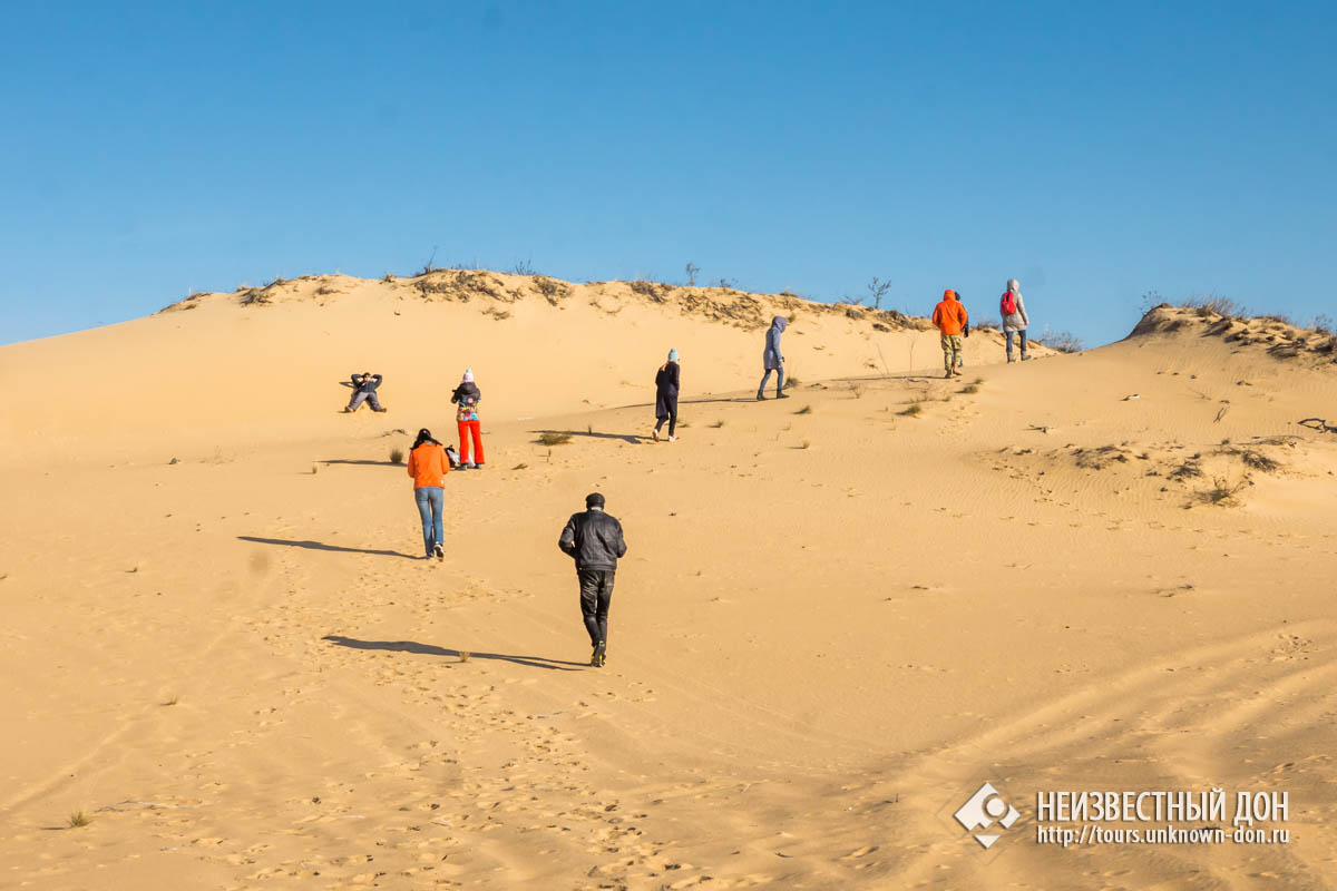 Среди песков